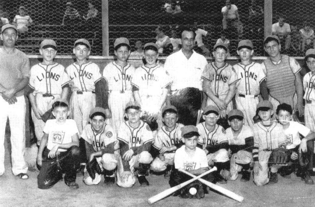 The Lions of the American Little League - the first Little League in Stamford - 1950.