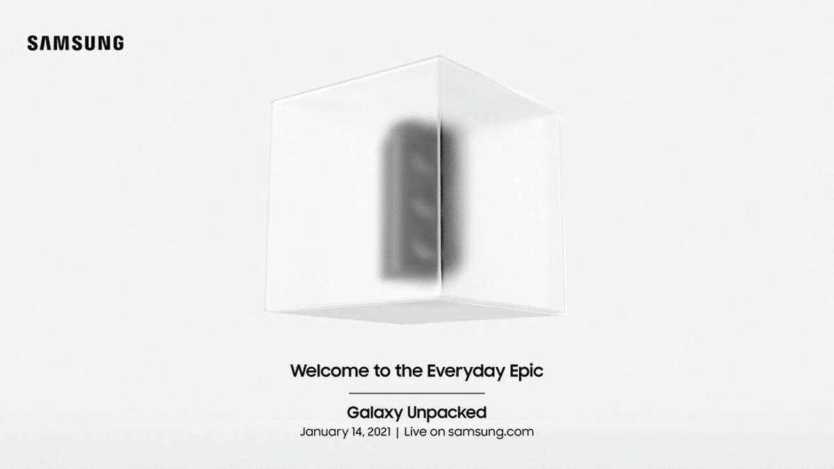 Samsung will host its first Unpacked event of 2021 on Jan. 14.