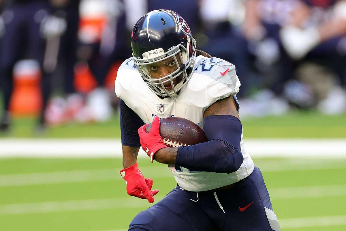Derrick Henry ran for a career-high 250 yards to surpass 2,000 yards rushing.