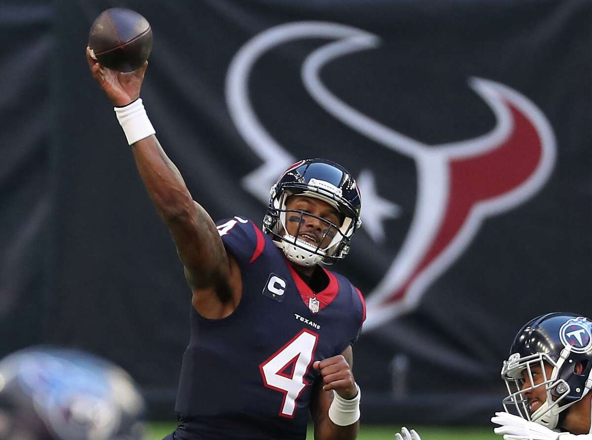 With his franchise-record 4,823 passing yards, Texans quarterback Deshaun Watson became the first player with 12 or more losses to lead the NFL in that category since Jeff George for the 1997 Raiders.