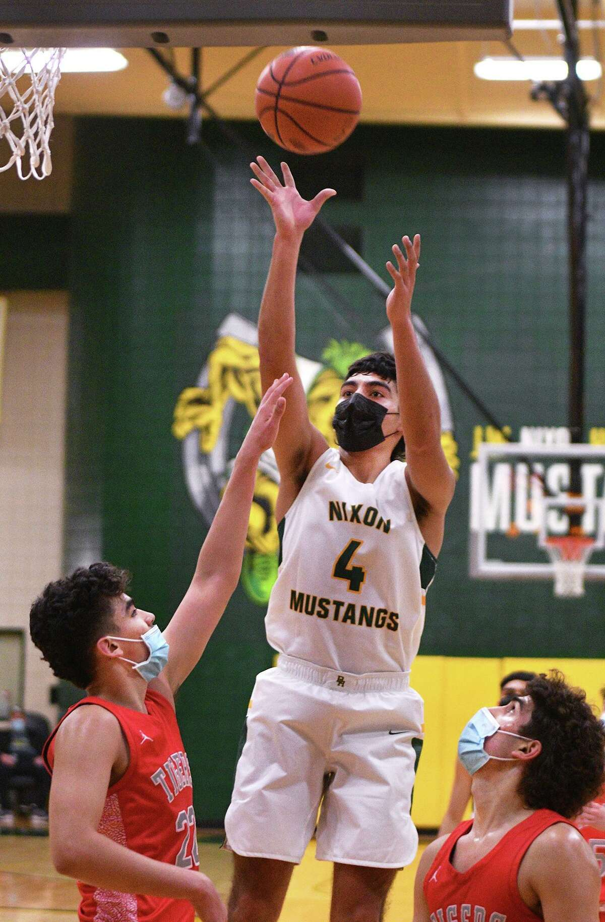 Juan Marines is one of three Nixon players who are 6-foot-2 or taller.