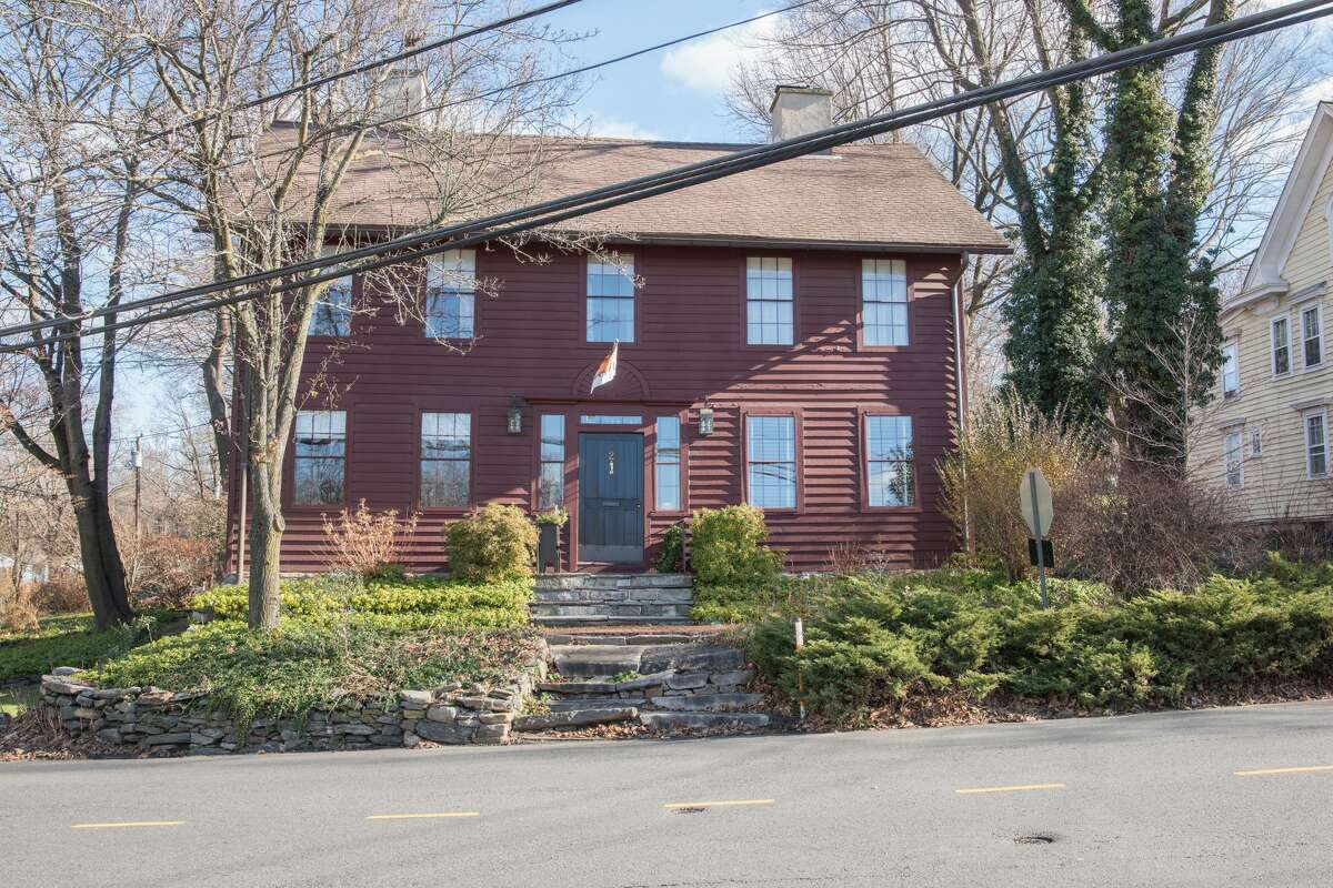 Newly remodeled antique colonial house and local historical landmark at 2 Chestnut St. in Bethel.