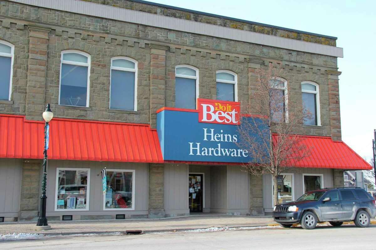 Heins Hardware in Port Austin. (Robert Creenan/Huron Daily Tribune)