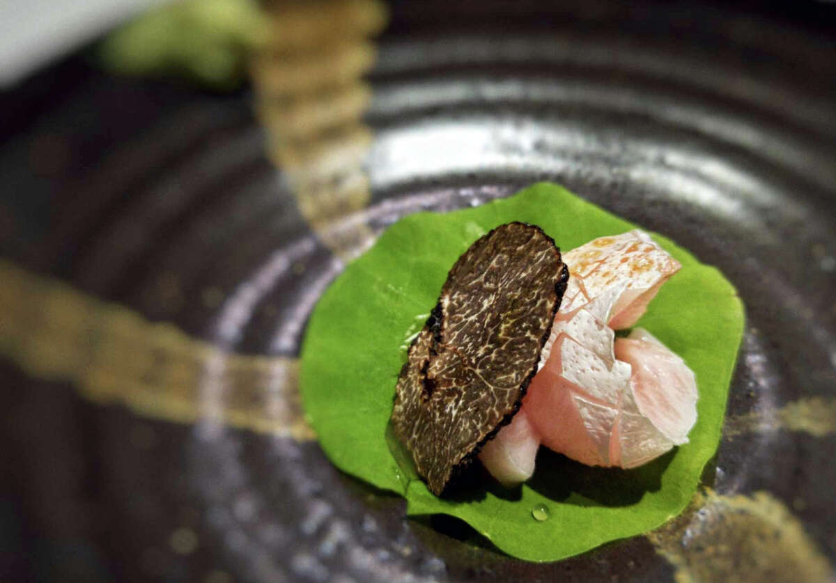 Hidden Omakase, a tasting menu-only sushi spot, has opened in the Galleria area at 5353 W. Alabama.