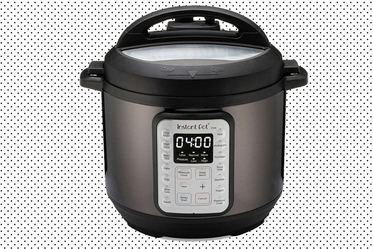 Instant Pot VIVA Black Stainless 6-Quart 9-in-1 Multi-Use Programmable Pressure Cooker for $49.00 at Walmart