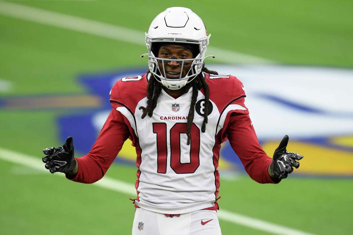 DeAndre Hopkins didn't top 50 yards receiving in either of the Cardinals' final two losses.