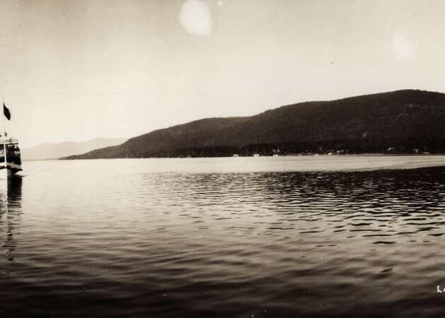 Story photo for Lake George panoramas at Hyde a glimpse of life more than a century ago