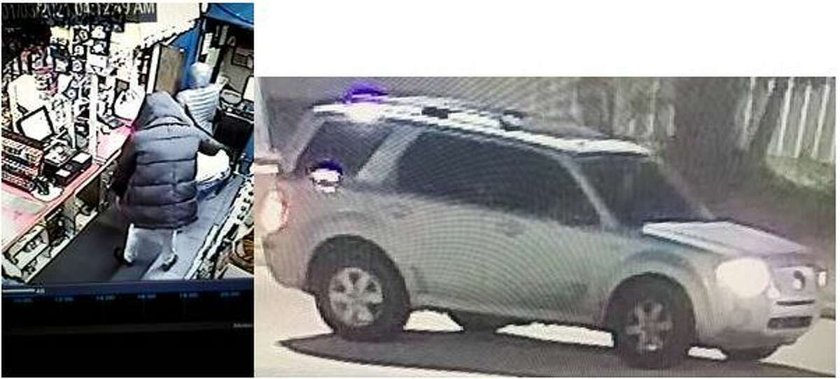 The Vidor Police Department is looking for three suspects allegedly involved in an armed robbery that occurred Sunday.Security camera footage showed the suspects leaving in a white or silver Mercury Mariner SUV westbound of the Interstate 10 service road.