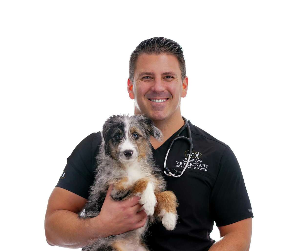 Dr. Philip Putter, owner of Spot on Veterinary Hospital and Hotel in Stamford, is one of the veterinarians who said he's been very busy in 2020 during the pandemic.