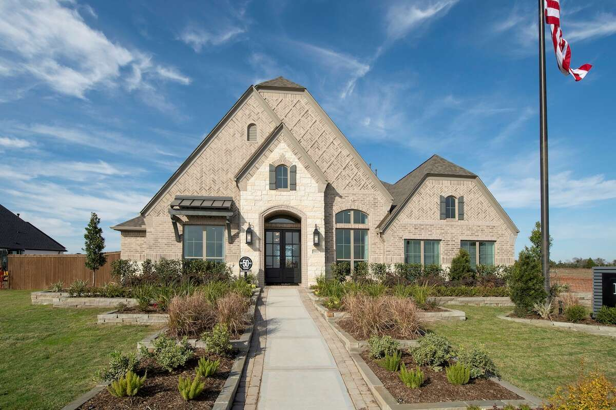Perry Homes opened a new model home in Meridiana.The four-bedroom, 3.5-bath model home is at 9603 Sanger Way.