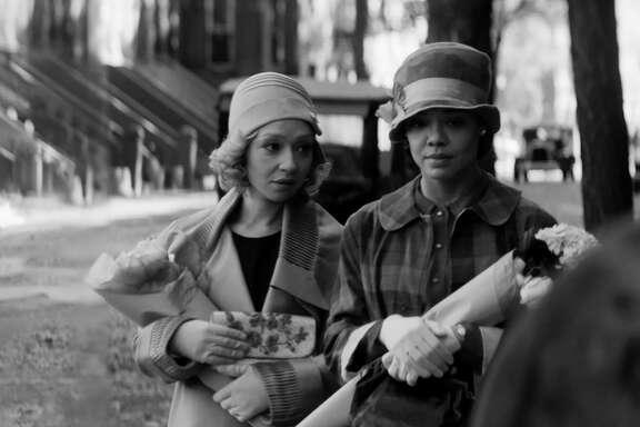 Ruth Negga and Tessa Thompson in 'Passing'