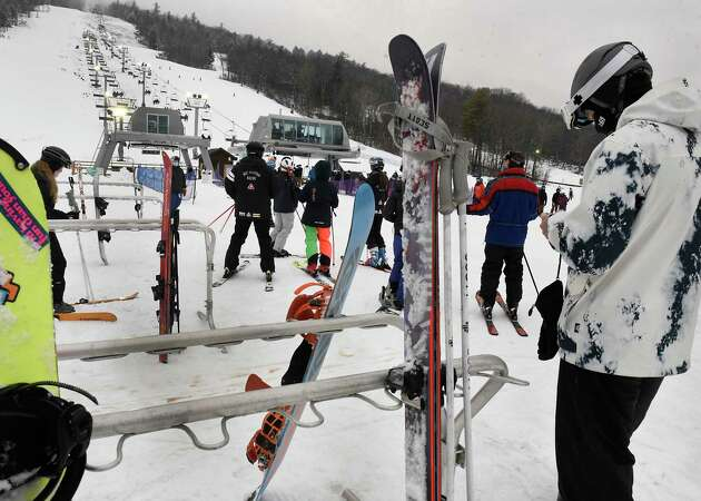 Story photo for Coronavirus or not, skiers, riders still heading to mountains