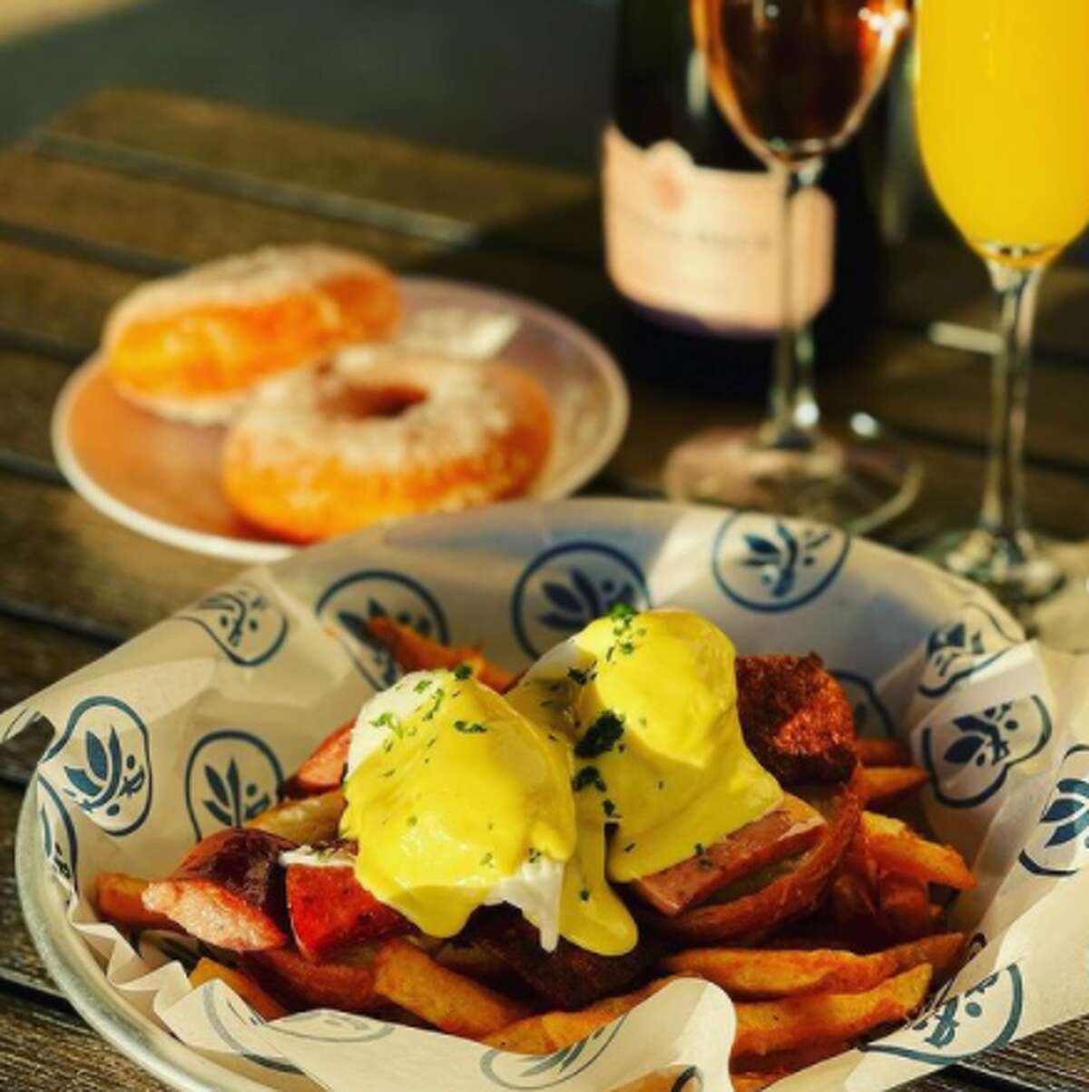 The Southerleigh Hospitality Group's latest extension introduced a new brunch menu on Sunday. A spokeswoman said the restaurant will release a finalized menu soon. The offerings as they stand now are on brand with Southerleigh's southern-style fare.