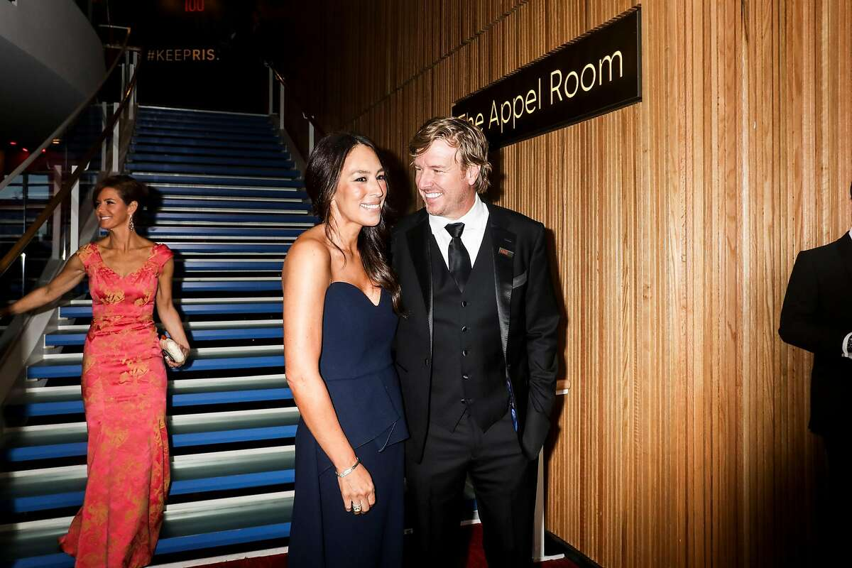 FILE -- Joanna and Chip Gaines at the Time 100 Gala at Lincoln Center in New York on April 23, 2019. A cable-era way of watching TV comes to streaming with the debut of Discovery+, an on-demand platform with lots of nature shows and cooking programs. (Krista Schlueter/The New York Times)