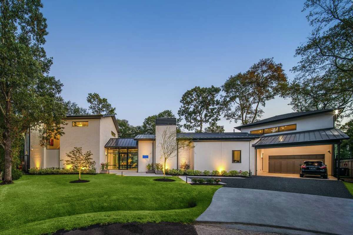 1. Contemporary style: More contemporary designs in new residential construction are driving the trend of more transitional and contemporary furnishings and interior finishes. This home is in the Memorial area.