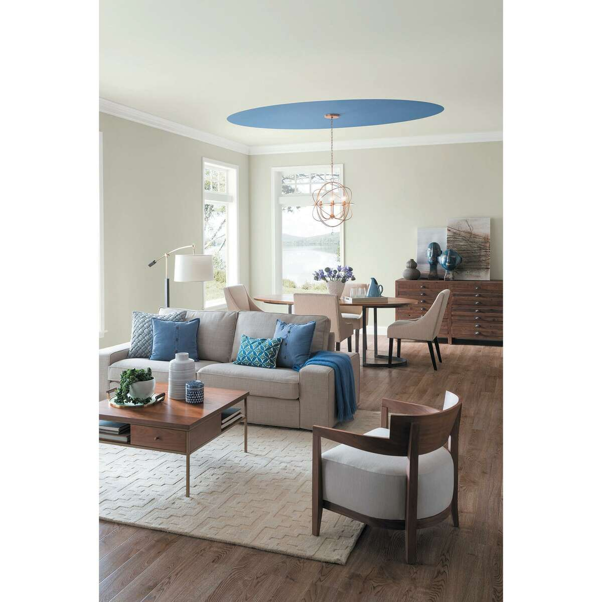 """2. White walls. """"Pure White"""" is Sherwin-Williams top paint color in the U.S. and in Texas. Just a few years ago, gray paint dominated the residential scene. Now, white paints dominate and are some of the top-selling colors for both Sherwin-Williams and Benjamin Moore."""