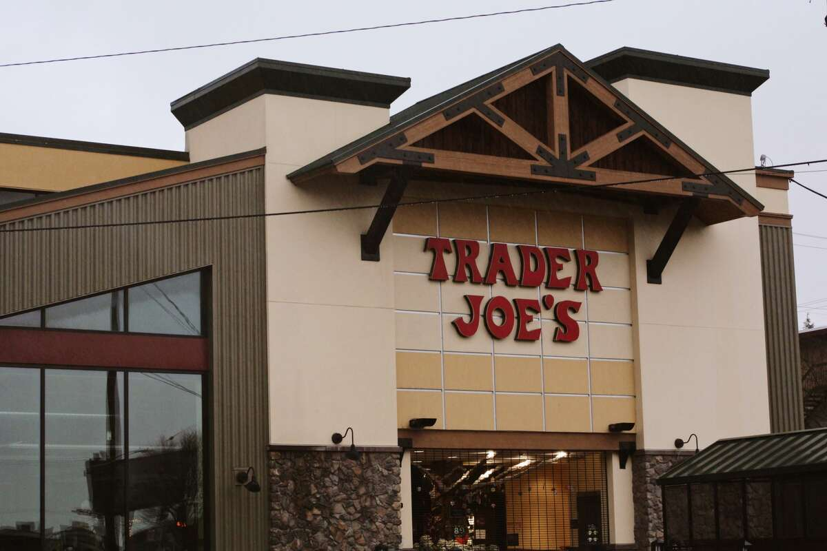 The outside of a Trader Joe's store in Seattle, Wash.