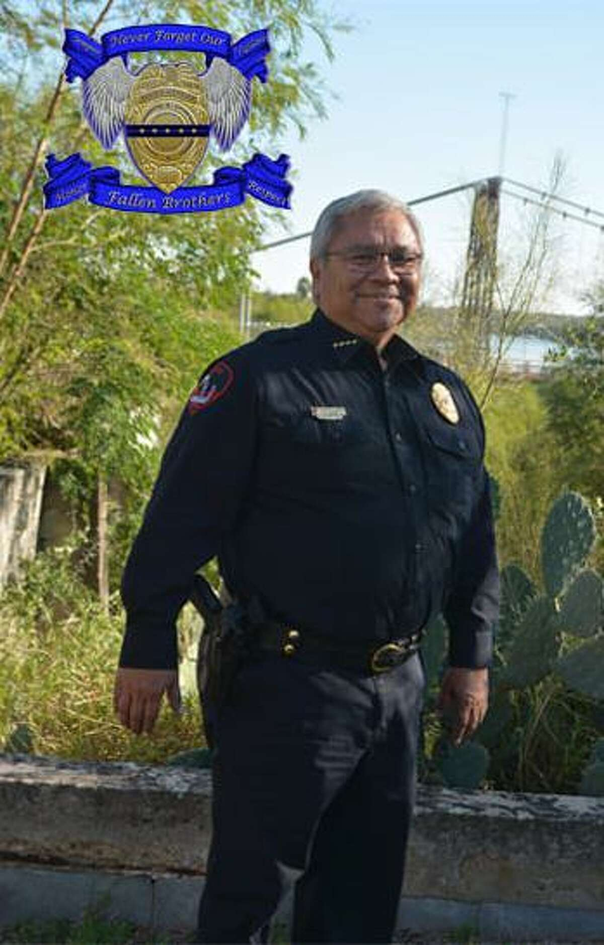 """Roma Chief of Police Jose H. """"Beto"""" Garcia died of COVID-19 on Monday. He had been in law enforcement for 36 years, leading the department the past 27 1/2."""