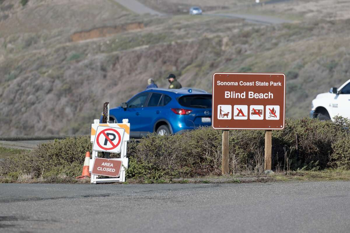 The children went missing in the ocean at Blind Beach near Jenner, according to the California Highway Patrol.