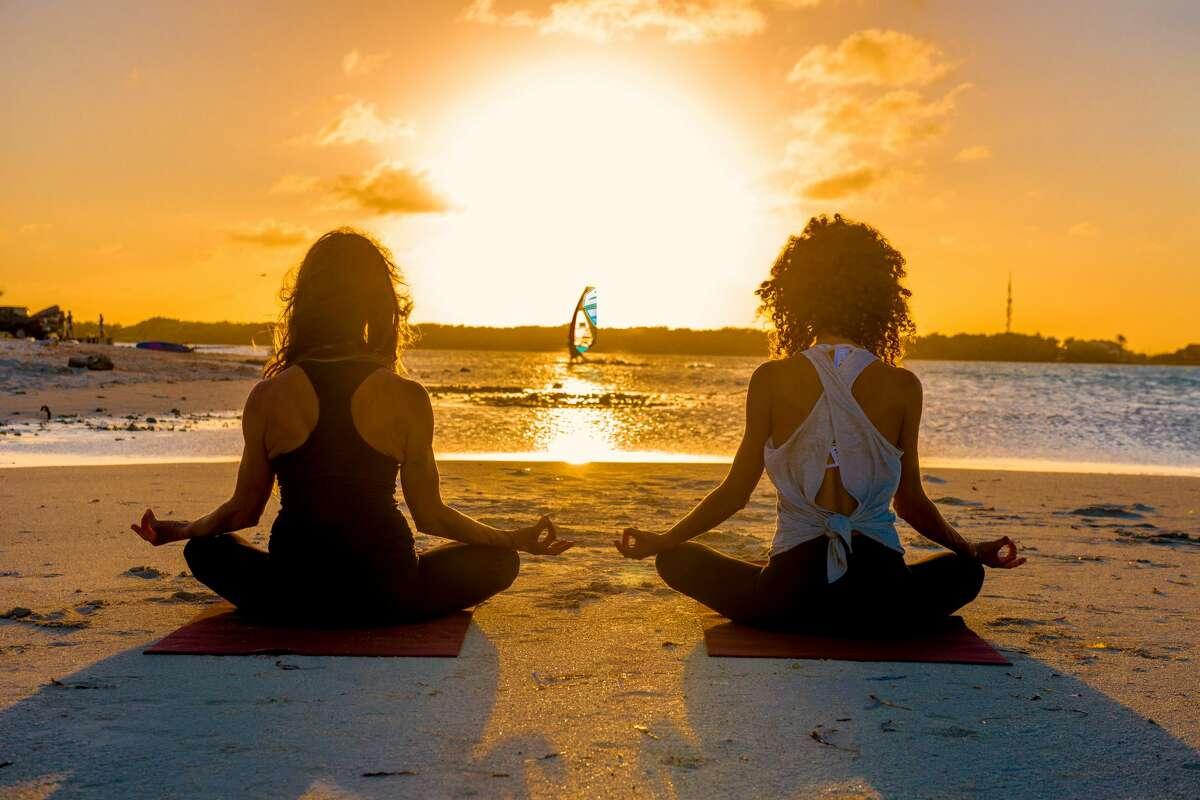 W Fort Lauderdale offers sunrise beach yoga.