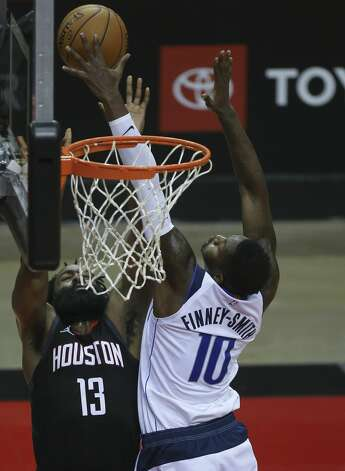 Action during the first quarter of a NBA game Monday, Jan. 4, 2021, at Toyota Center in Houston. Photo: Yi-Chin Lee/Staff Photographer / © 2021 Houston Chronicle