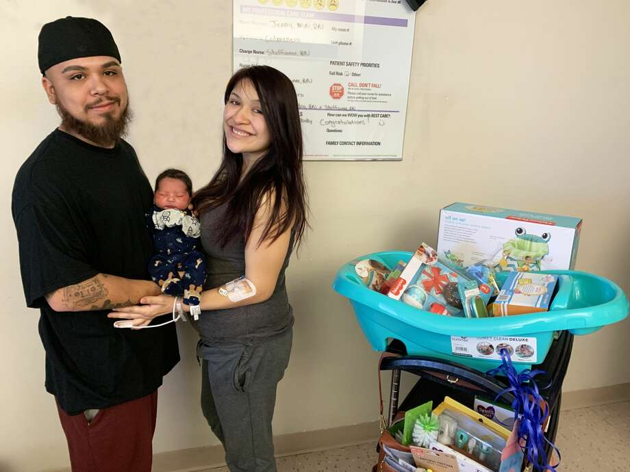 GiAnno Lu'castello Hernandez became the first known baby of 2021 born in Hale County on Jan. 3 at Covenant Health Plainview. He is the son of Angela Ortega and Luis Hernandez. Photo: Provided By Covenant Health Plainview