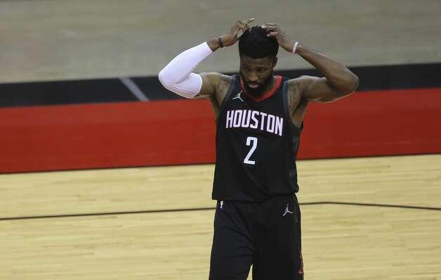 Houston Rockets David Nwaba (2) during the third quarter of a NBA game against the Dallas Mavericks Monday, Jan. 4, 2021, at Toyota Center in Houston. Photo: Yi-Chin Lee/Staff Photographer / © 2021 Houston Chronicle