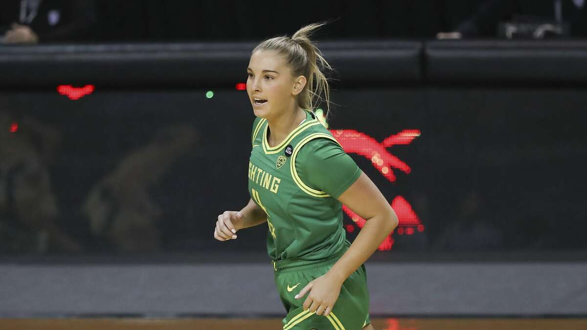 Jaz Shelley and Oregon, shown in a December game, are no longer in the top 10.