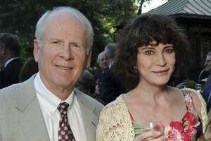 Robert and Dorothy Brockman attend an intimate al fresco dinner celebrating the Rice University groundbreaking of James Turrell's Rice University Skyspace project at the home of Phoebe and Bobby Tudor, Tuesday evening, May 17, 2011, in Houston. Federal prosecutors have charged the Texas billionaire in a $2 billion tax fraud scheme that they say is the largest such case against an American. He has pleaded not guilty.