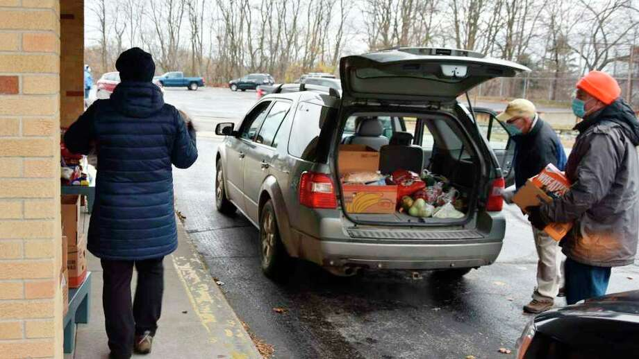 """""""Due to COVID-19, the Matthew 25:35 food pantry, as well as other nonprofit organizations in our community have experienced some difficult times financially,"""" reads part of a news release from the pantry. """"Hunger in our community never ends, and is even more acute during this pandemic.""""(File photo)"""