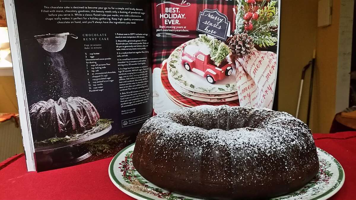 One of my favorite recipes from Joanna Gaines I have tried is her chocolate Bundt cake!