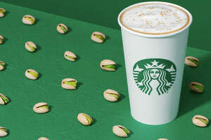 Pistachio Latte from Starbucks.