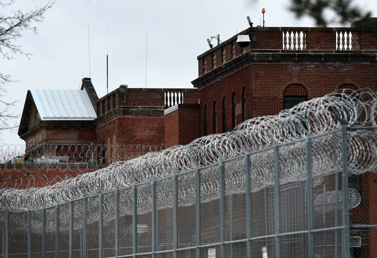 Exterior of the Albany County Correctional Facility on Tuesday, Jan. 5, 2021, in Colonie, N.Y. (Will Waldron/Times Union)