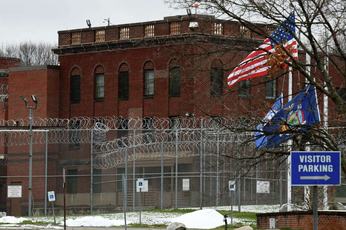 Exterior of the Albany County Correctional Facility on Tuesday, Jan. 5, 2021, in Colonie, N.Y.