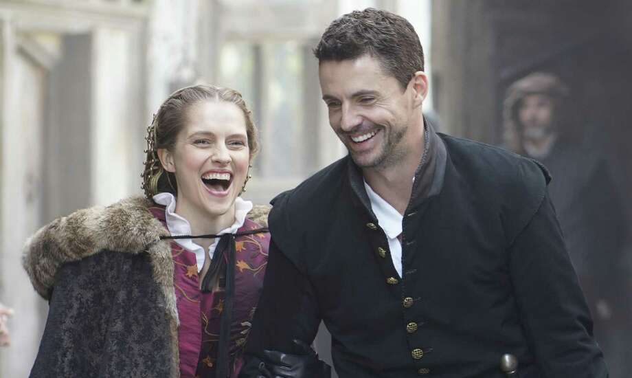 "Teresa Palmer and Matthew Goode star in ""A Discovery of Witches."" Photo: Sundance Now"