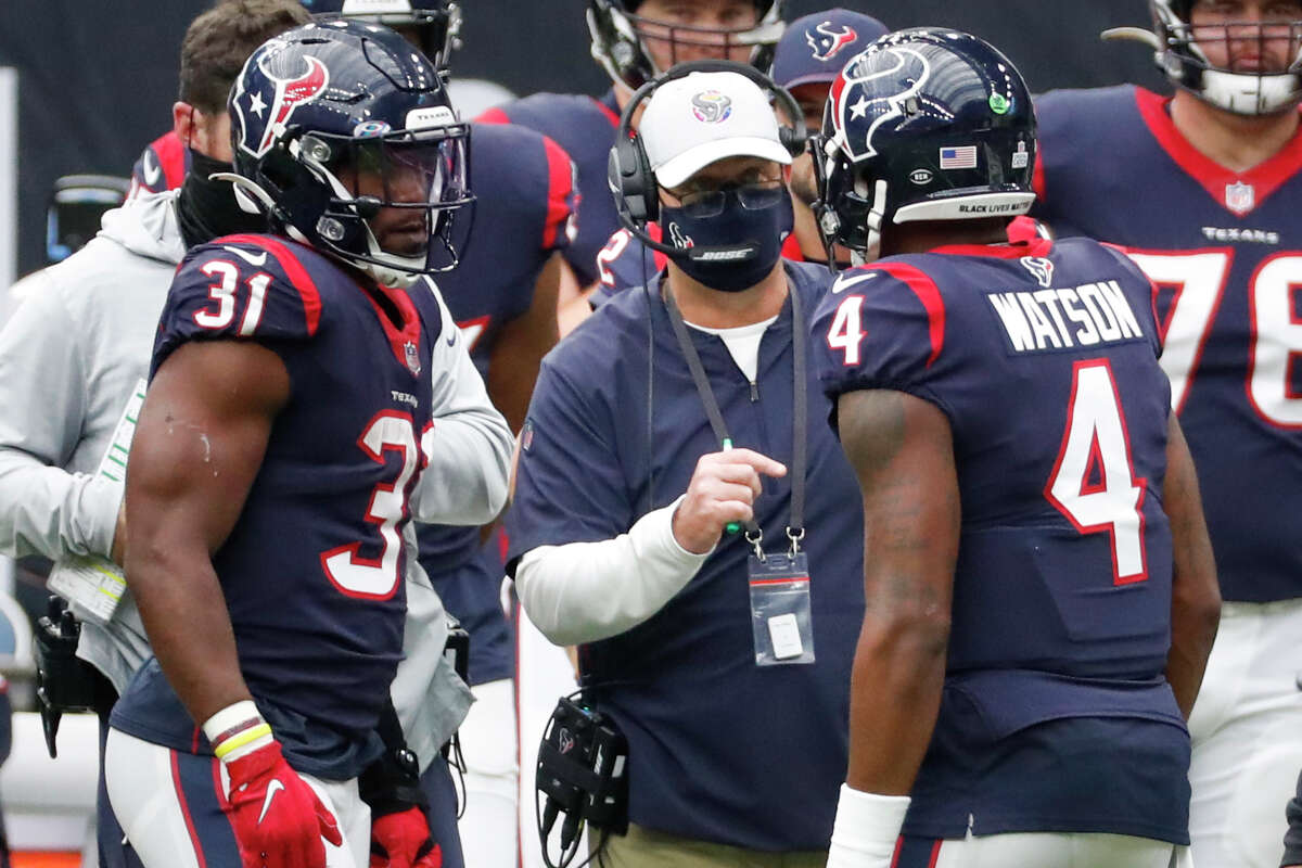 Deshaun Watson certainly made the grade in 2020. The same can't be said for David Johnson (31) while the man who acquired him in a controversial trade, Bill O'Brien, flunked out after just four games.