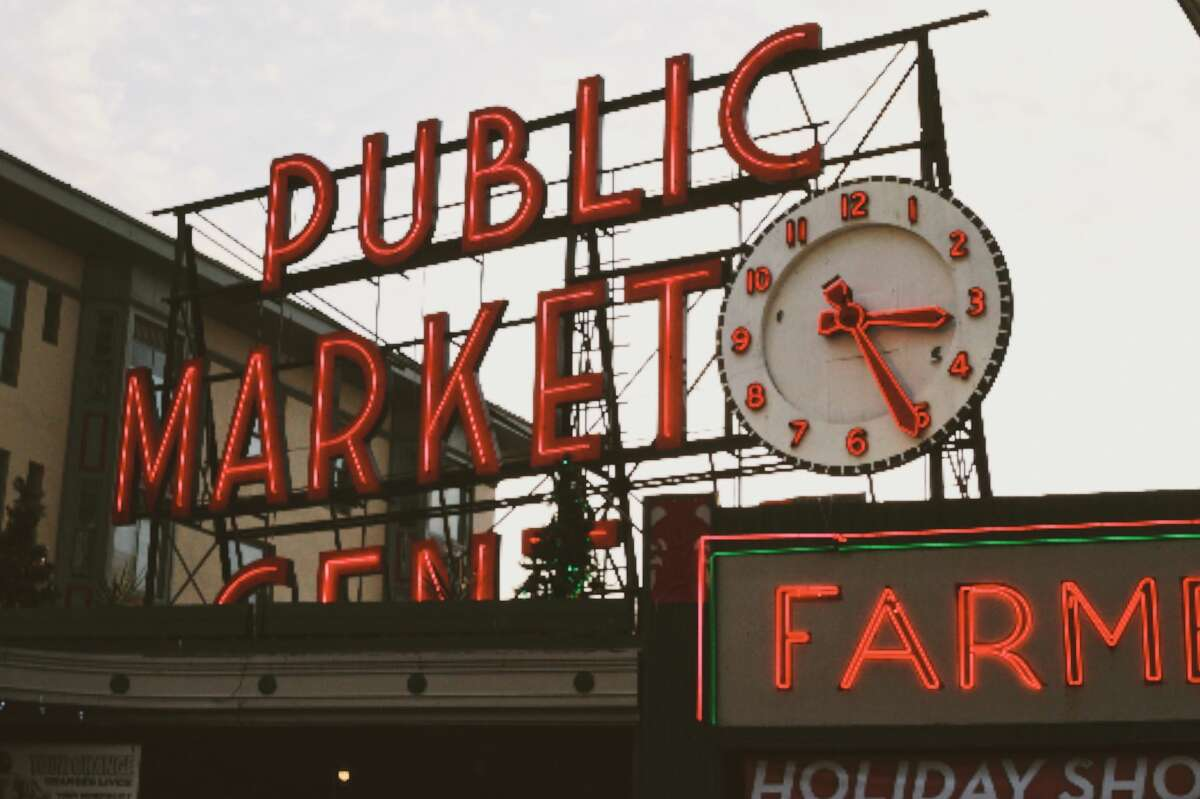 Pike Place Market in Seattle, Wash.