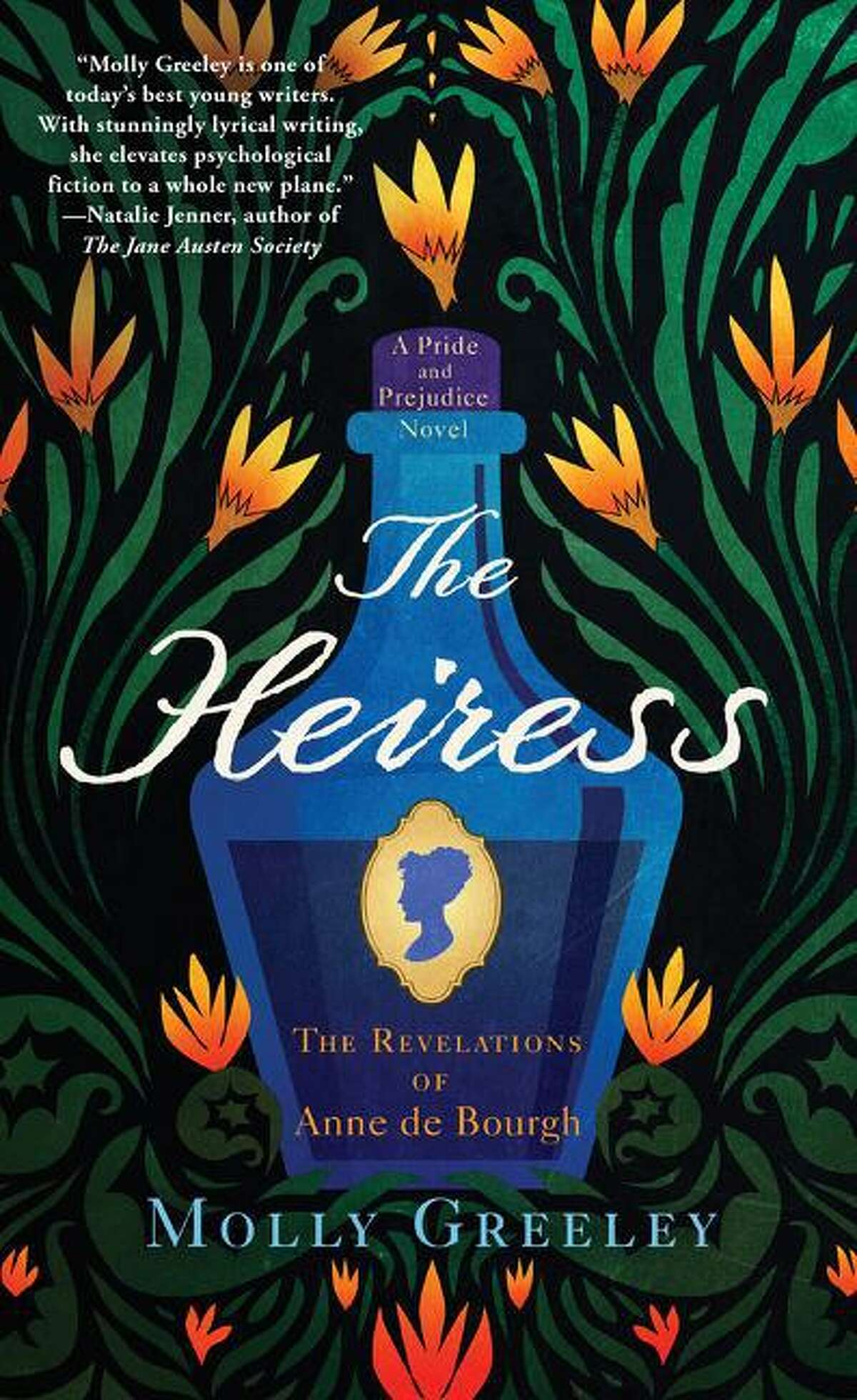 """""""The Heiress"""" is the latest novel by Molly Greeley."""