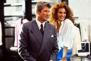 """Richard Gere, left, and Julia Roberts in """"Pretty Woman."""" (Touchstone Pictures)"""