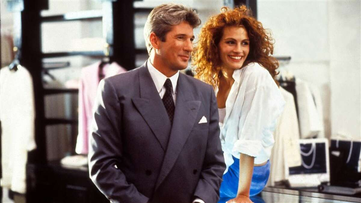 Richard Gere, left, and Julia Roberts in