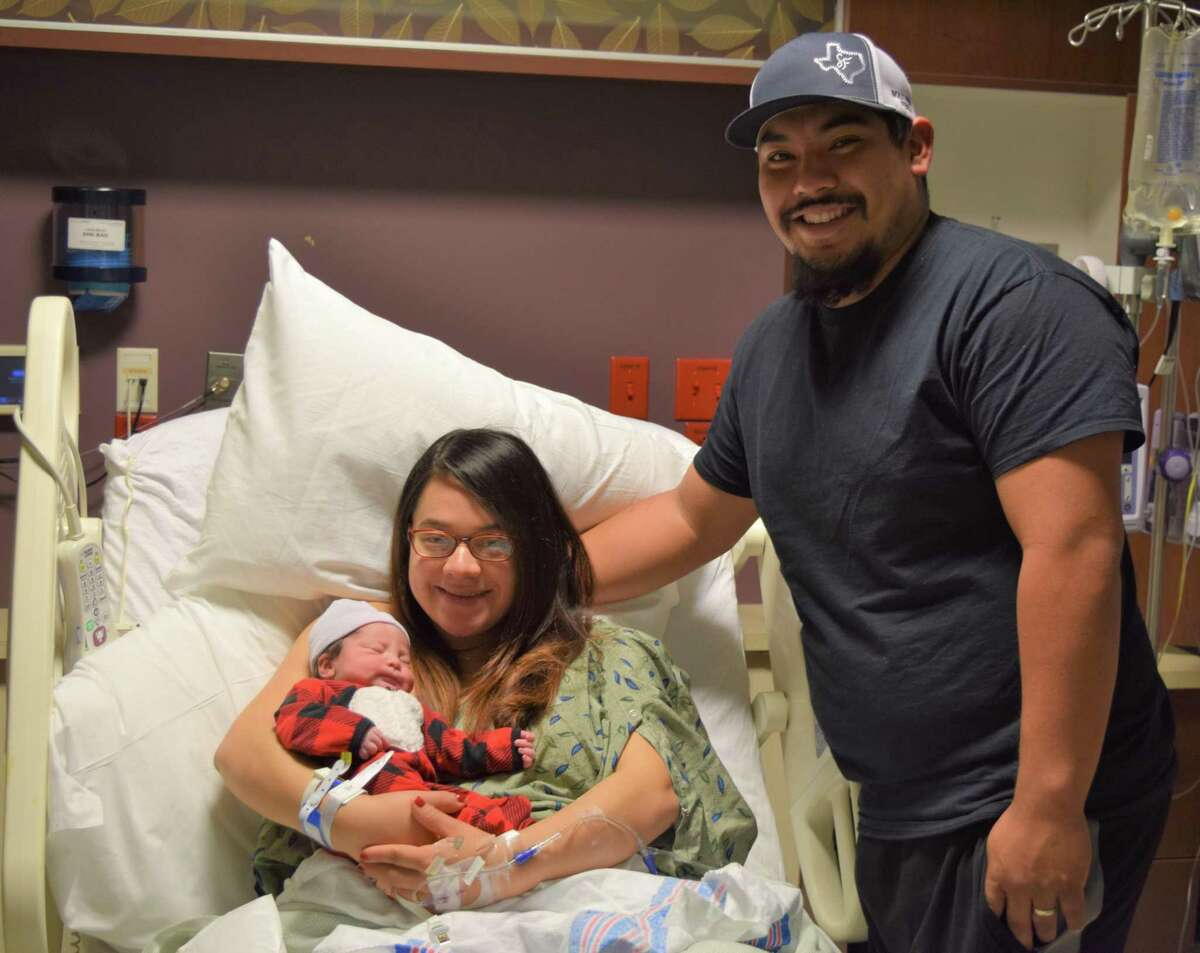 The first child of Alondra and Jesse Perez, and the first baby born at Richmond's OakBend Medical Center in 2021, was born at 3:23 p.m. Friday, Jan. 1.Zyrah Alix Perez was 7 pounds 1 ounce and was 19.5 inches long.
