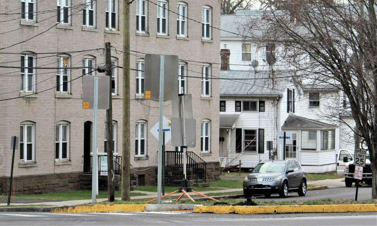 Spring Street in Middletown will be made into a one-way road soon to remedy the problem of motorists speeding off the Arrigoni Bridge into the residential area, which is also a school zone.