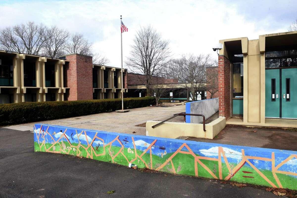 The Quinnipiac STEM Magnet School in New Haven Jan. 5, 2021.