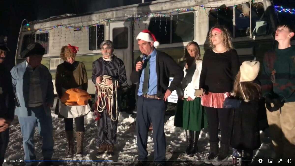 The New Milford community raises money through a live show.
