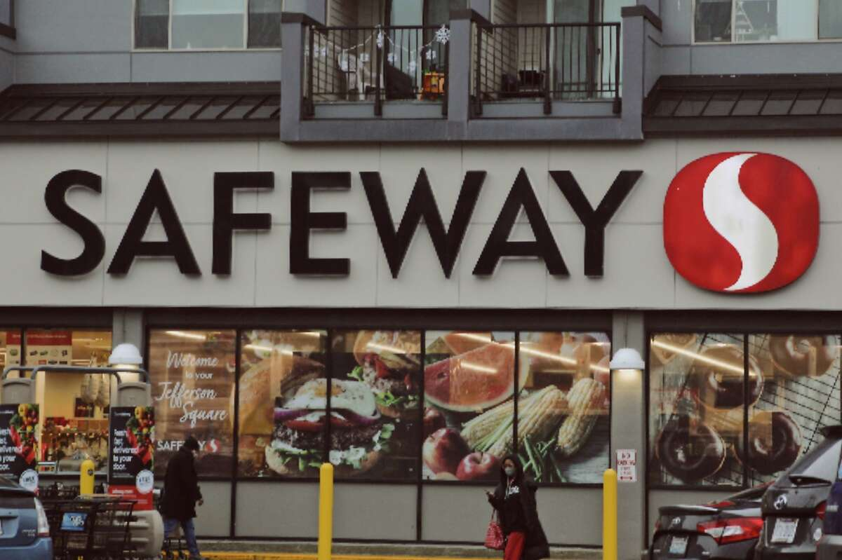 The Safeway store in West Seattle, Wash.
