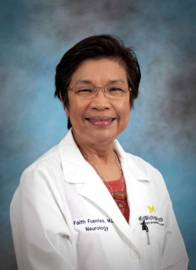 Faith Fuentes, M.D., is a neurohospitalist and medical director for the stroke program at MidMichigan Health. (Photo Provided)