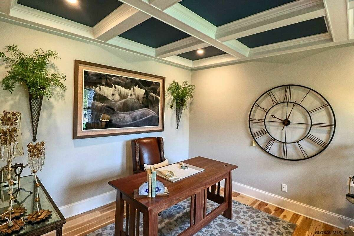 Scroll through the photos below to take a look inside fives Capital Region homes for sale, each boasting a beautiful in-home office.