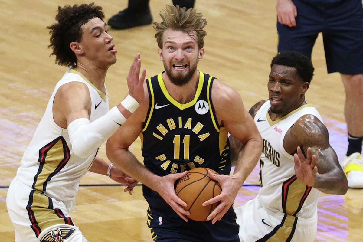 Domantas Sabonis and the Pacers will present a different challenge for the Rockets' defense when the teams play Wednesday night in Indianapolis.