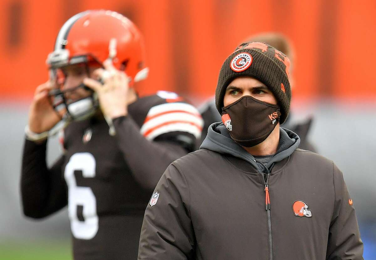 Cleveland Browns head coach Kevin Stefanski has tested positive for the coronavirus.