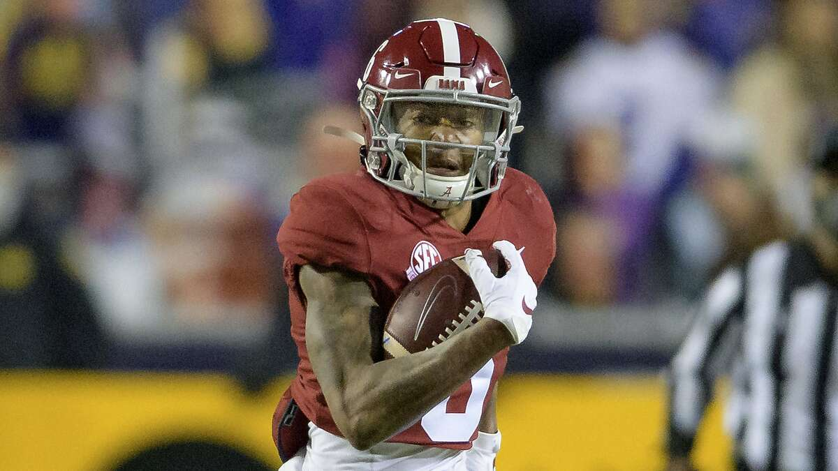 DeVonta Smith is the fourth receiver to win the Heisman, joining Desmond Howard, Tim Brown and Johnny Rodgers.